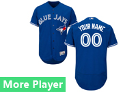 Mens Majestic Toronto Blue Jays Blue Flexbase Collection Jersey