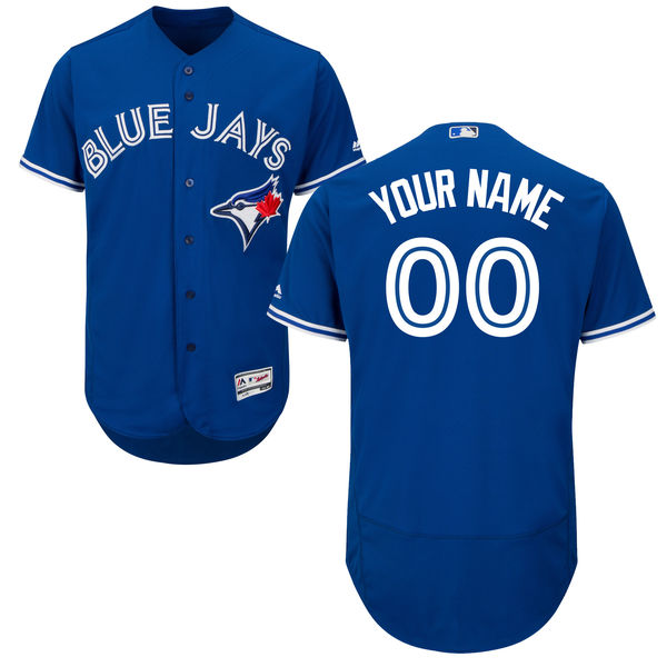 Mens Majestic Toronto Blue Jays Blue Flex Base Jersey