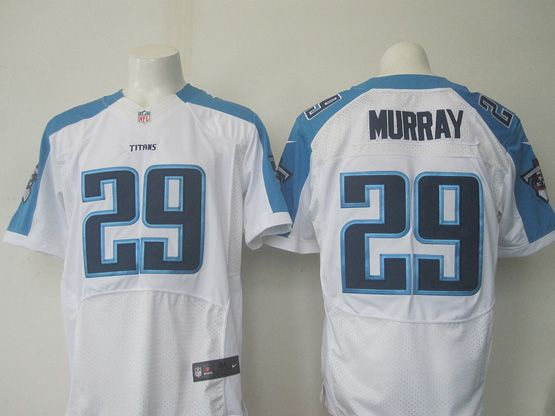 Mens Nfl Tennessee Titans #29 Demarco Murray White Elite Jersey