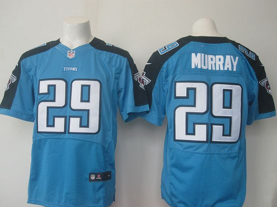 Mens Nfl Tennessee Titans #29 Demarco Murray Light Blue Elite Jersey