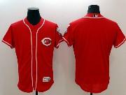 mens majestic cincinnati reds blank red Flex Base jersey
