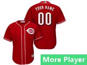 Mens Majestic Cincinnati Reds Red Cool Base Jersey