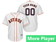 Mens Majestic Houston Astros White Cool Base Jersey