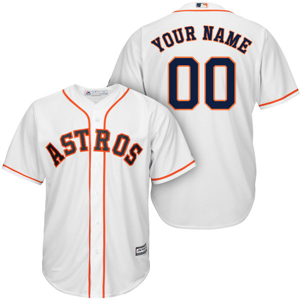Mens Womens Youth Majestic Houston Astros White Cool Base Jersey