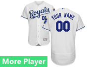 Mens Majestic Kansas City Royals White Flex Base Jersey