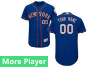 Mens Majestic New York Mets Blue Flex Base Jersey New York