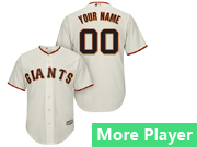 Mens Majestic San Francisco Giants Cream Cool Base Jersey