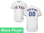 Mens Majestic Texas Rangers White Flex Base Jersey