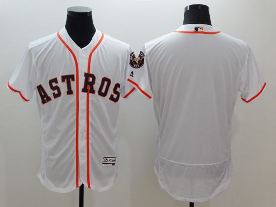 Mens Majestic Houston Astros Blank White Flexbase Collection Jersey