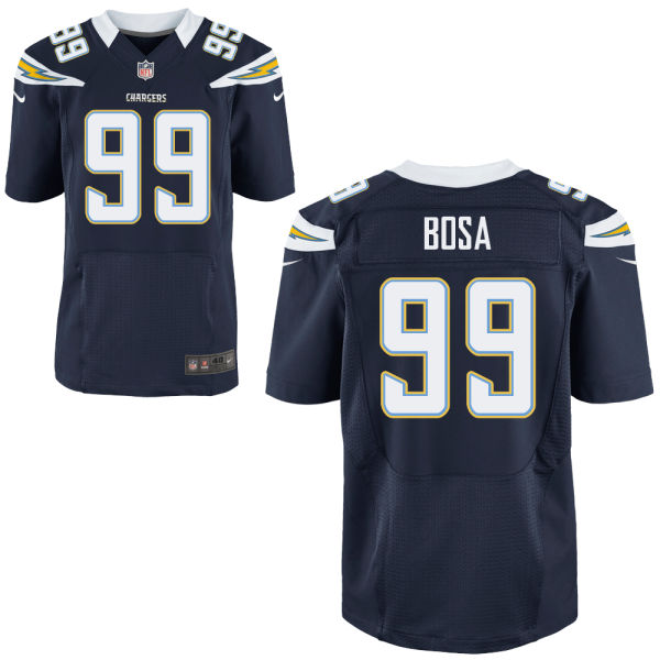 Mens Nfl San Diego Chargers #99 Joey Bosa Navy Blue Elite Jersey