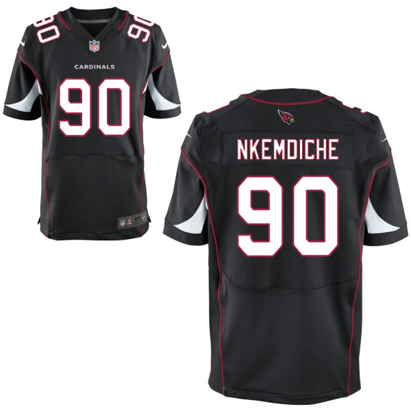 Mens Nfl Arizona Cardinals #90 Robert Nkemdiche Black Elite Jersey