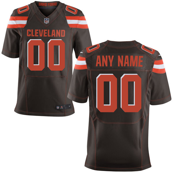 Mens Nike Cleveland Browns Brown Elite Jersey