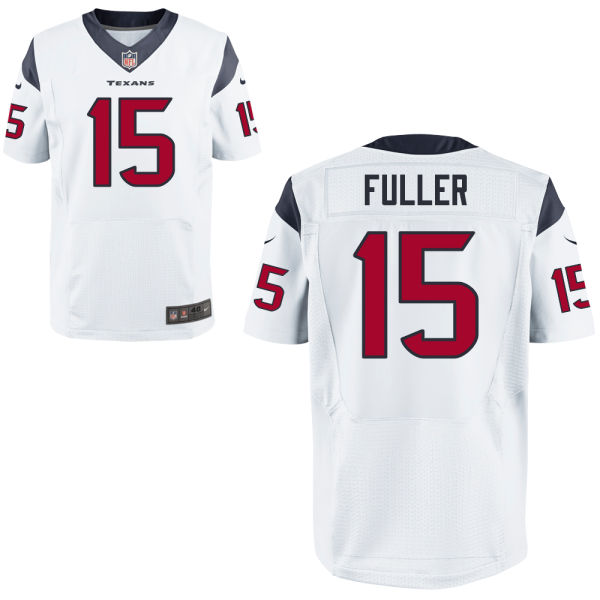 Mens Nfl Houston Texans #15 Will Fuller White Elite Jersey