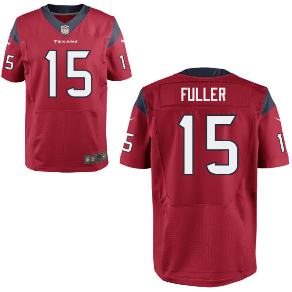 Mens Nfl Houston Texans #15 Will Fuller Red Elite Jersey