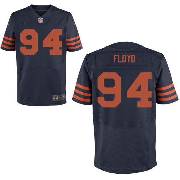 Mens Nfl Chicago Bears #94 Leonard Floyd Blue Alternate Elite Jersey