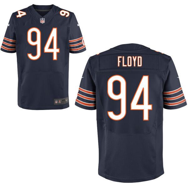 Mens Nfl Chicago Bears #94 Leonard Floyd Blue Elite Jersey