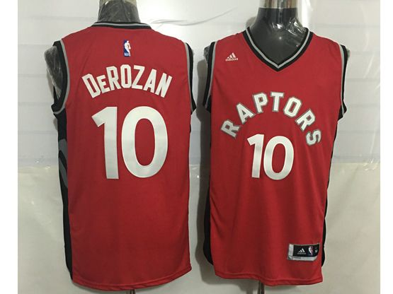 Mens Nba Toronto Raptors #10 Demar Derozan Red Jersey