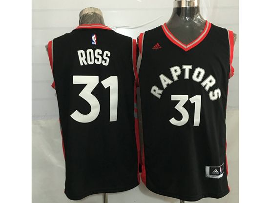 Mens Nba Toronto Raptors #31 Terrence Ross Black&red Jersey