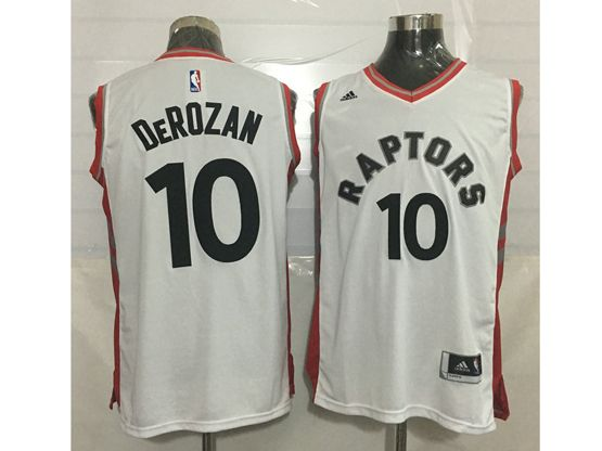 Mens Nba Toronto Raptors #10 Demar Derozan White Jersey