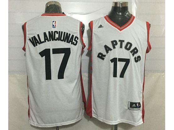 Mens Nba Toronto Raptors #17 Jonas Valanciunas White Jersey