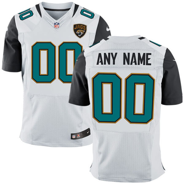 Mens Jacksonville Jaguars White Elite Jersey