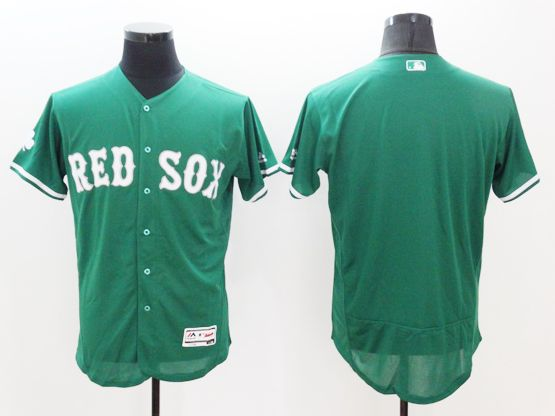 mens majestic boston red sox blank green Flex Base jersey