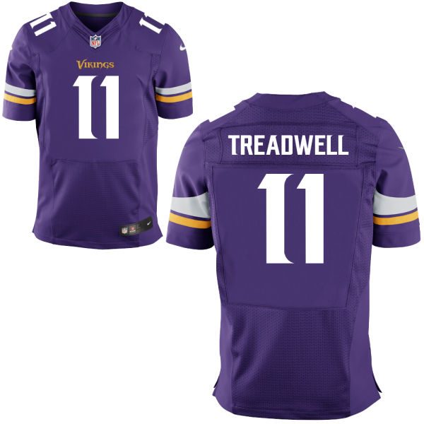 Mens Nfl Minnesota Vikings #11 Laquon Treadwell Purple Elite Jersey