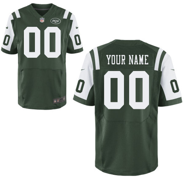 Mens Nike New York Jets Green Elite Jersey