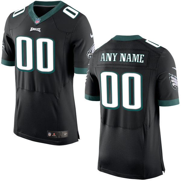 Mens Nike Philadelphia Eagles Black Elite Jersey
