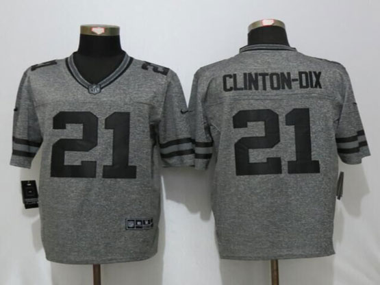 Mens Nfl Green Bay Packers #21 Ha Ha Clinton-dix Gray Stitched Gridiron Limited Jersey