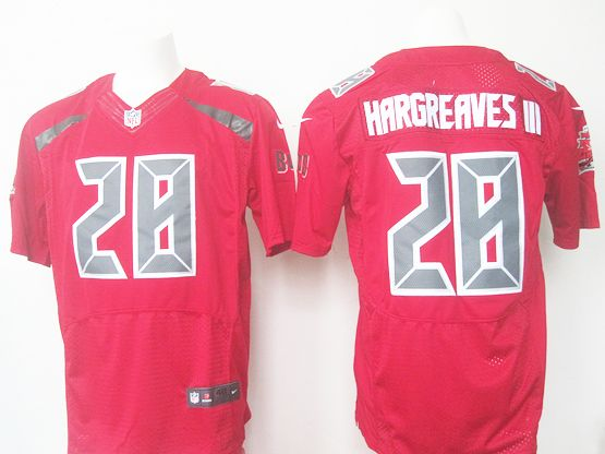 Mens Nfl Tampa Bay Buccaneers #28 Vernon Hargreaves Red 2016 New Elite Jersey