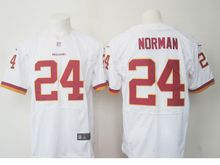 Mens Nfl Washington Redskins #24 Josh Norman White Elite Jersey