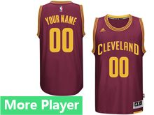 Mens Adidas Cleveland Cavaliers Red Swingman Road Jersey