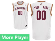 Mens Adidas Cleveland Cavaliers White Home Jersey