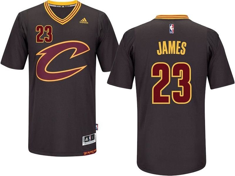 972753ae2 ... get mens nba cleveland cavaliers 23 lebron james black sleeved swingman  jersey 1ece3 44ad4