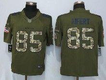 Mens Nfl Cincinnati Bengals #85 Tyler Eifert Green Salute To Service Limited Jersey