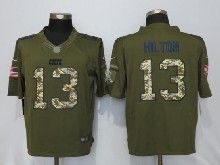 Mens Nfl Indianapolis Colts #13 T.y. Hilton Green Salute To Service Limited Jersey