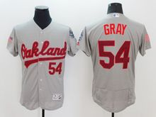 mens majestic oakland athletics #54 sonny gray fashion stars stripes Flex Base jersey