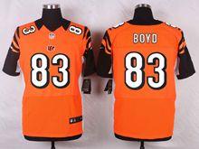 Mens Nfl Cincinnati Bengals #83 Tyler Boyd Orange Elite Jersey