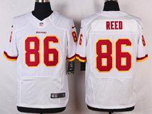 Mens Nfl Washington Redskins #86 Jordanreed White Elite Jersey