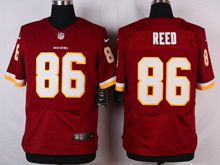 Mens Nfl Washington Redskins #86 Jordan Reed Red Elite Jersey