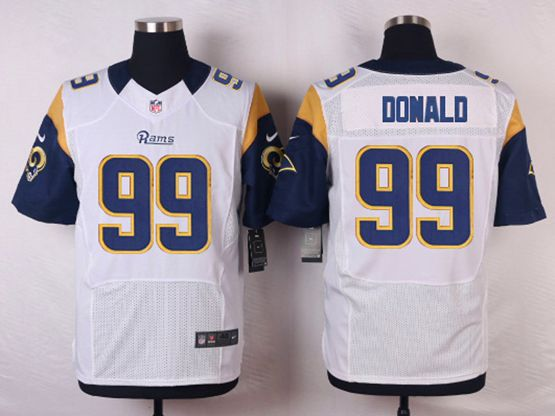 Mens Nfl St. Louis Rams #99 Aaron Donald White Elite Jersey
