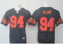 Mens Nfl Chicago Bears #94 Leonard Floyd Blue Orange Elite Jersey