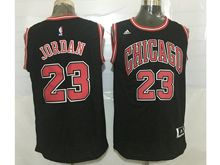 Mens Nba Chicago Bulls #23 Michael Jordan (chicago) Black Jersey