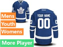 Reebok Toronto Maple Leafs Royal Blue Home 2016 Premier Jersey