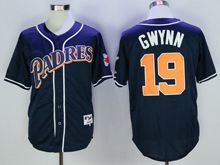 Mens Mlb San Diego Padres #19 Tony Gwynn Navy Blue Cool Base Jersey