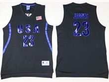 Mens Nba 12 Dream Teams #23 James Black Jersey