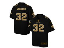 Mens Nfl New Orleans Saints #32 Kenny Vaccaro Pro Line Black Gold Collection Jersey