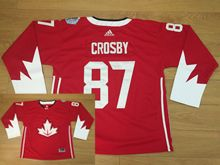 Mens Nhl Team Canada #87 Sidney Crosby Red 2016 World Cup Hockey Jersey