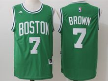 Mens Nba Boston Celtics #7 Jaylen Brown Green (new) Jersey